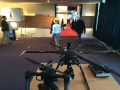 Drony na Integrated Systems Europe Amsterodam